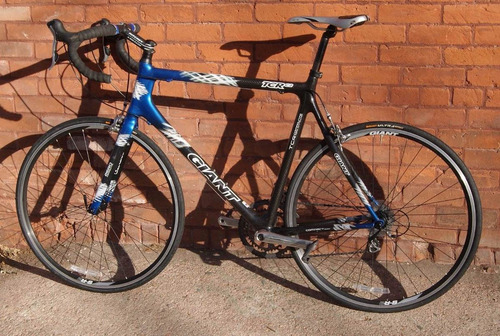 bicicleta giant tcr composite2 full carbon ultegra road bike