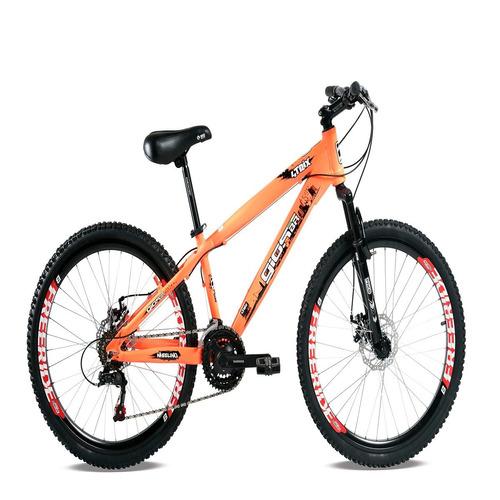 bicicleta gios frx/frs/4trix aro 26 freio a disco laranja