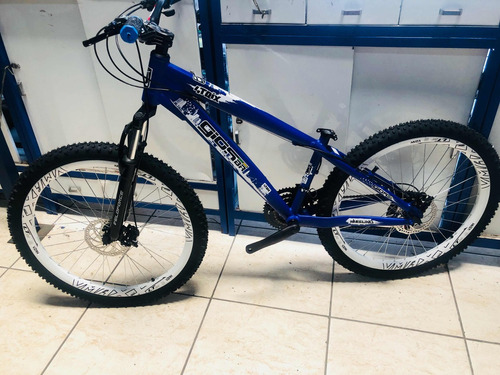 bicicleta gios v-maxx 21v marcha shimano freio a disco dh