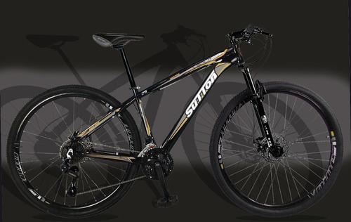 bicicleta gold 29 freio disco hidraulico 21 m câmbio shimano