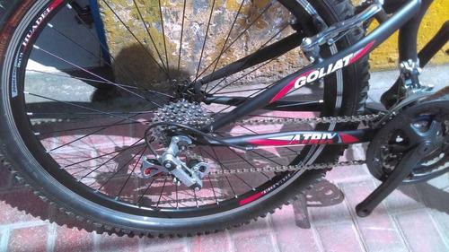 bicicleta goliat deportiva cuadro reforzado 21 cambios allpi