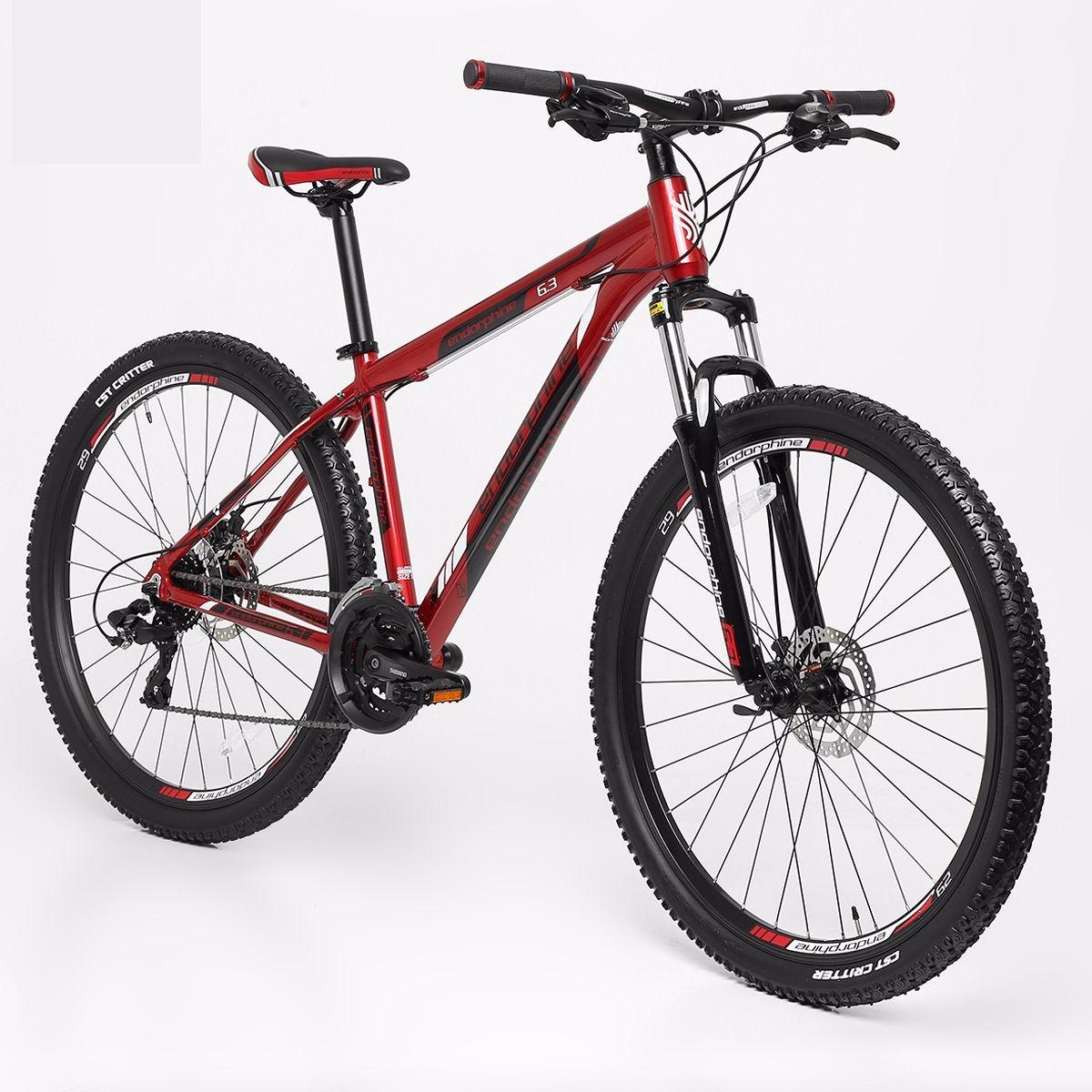 6038bcab5 bicicleta gonew endorphine 6.3 aluminio aro 29 vermelha. Carregando zoom.