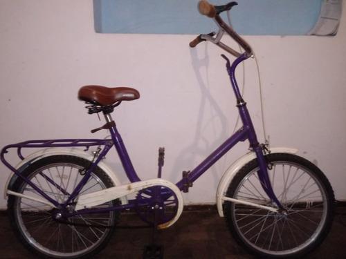 bicicleta gracielita plegable rod 20
