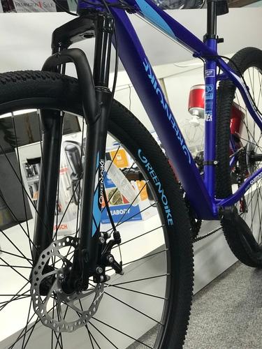 bicicleta greenbike predator mtb montaña 29 aluminio + regal