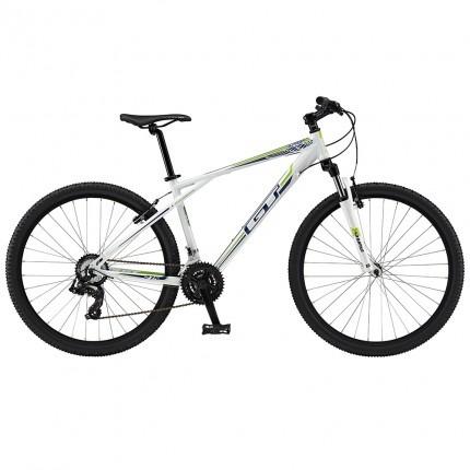 bicicleta gt 39 l suspensión delantera aro 27.5 blanca