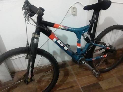 bicicleta gt doble suspensión (usada)