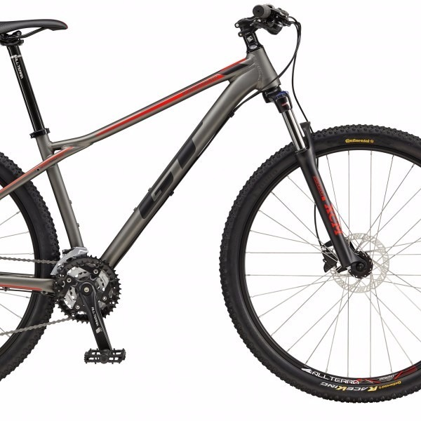 ad9db02e8 Bicicleta Gt Karakoram Comp 29 27v Preto Grafiti 2017 Cinza - R ...