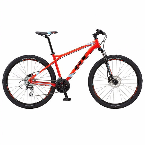 bicicleta gt outpost expert red 2018