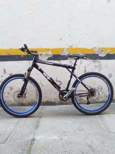 bicicleta gt zaskar expert, talla l en aluminio hidroformado