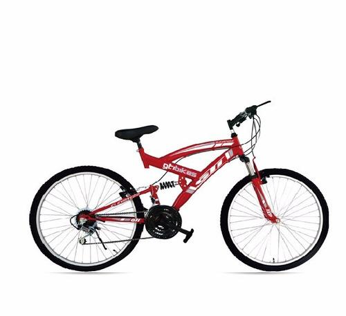 bicicleta gti aro 26¿ doble suspensión