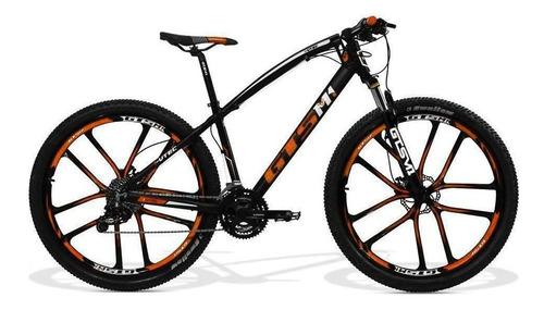 bicicleta gts aro 29 f hidráulico i-vtec abs magnésio 27v cl