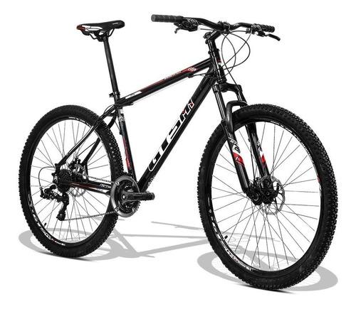 bicicleta gts aro 29 freio disco e câmara anti furo 24v ride
