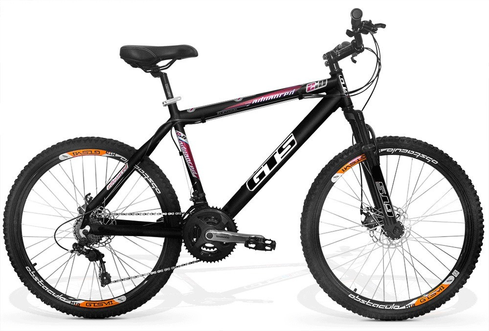 bicicleta gts m1 advanced 2.0 aro 26 freio a disco 21v. Carregando zoom. 4d07f571ef5