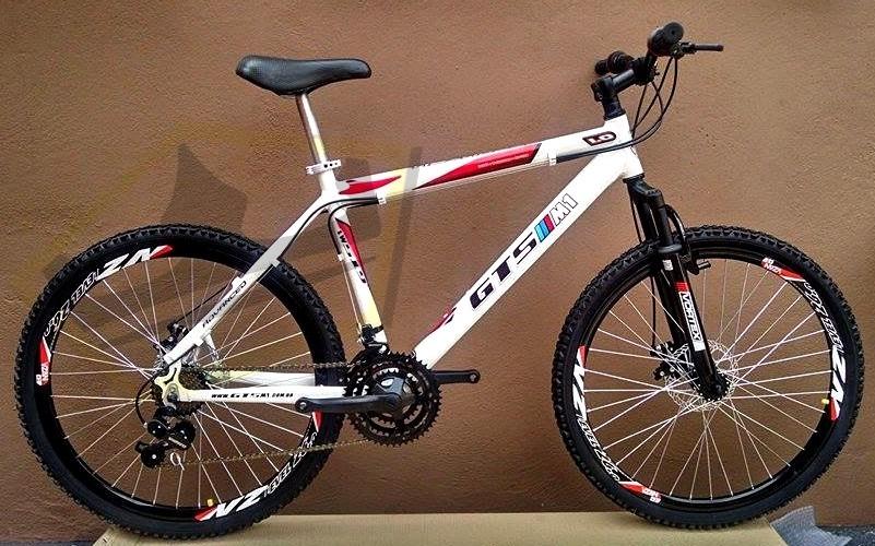 bicicleta gts m1 advanced - freio a disco - câmbios shimano. Carregando  zoom. 3e70b4f1579