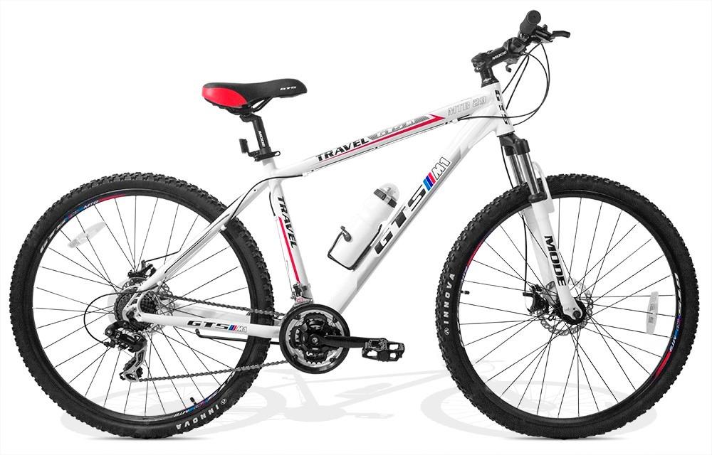 Bicicleta Gts M1 Travel Aro 29 Freio A Disco 21 Marchas