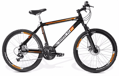 bicicleta gts m1 walk, freio disco, câmbios shimano,