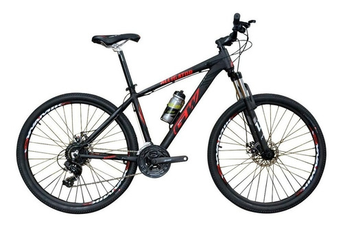 bicicleta gw alligator 27,5 disco suspens shimano tourney 24