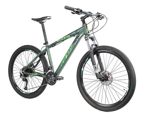 bicicleta gw alligator 29 shimano acera 9 hidráulico remoto