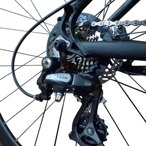 bicicleta gw alligator 29  shimano f. disco hidraulico 24vel