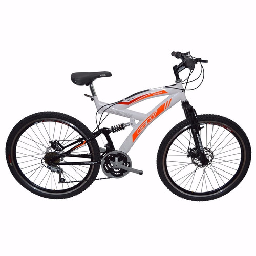 bicicleta gw caronte shimano moto rin 26 doble pared 21 vel