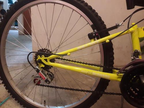 bicicleta gw de doble suspensión
