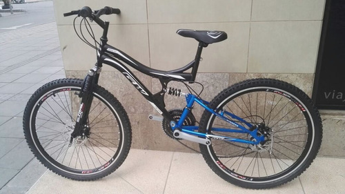 bicicleta gw doble suspension 18 velocidades freno de disco