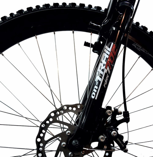 bicicleta gw doble suspensión freno disco d/pared aluminio