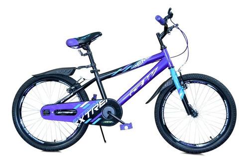 bicicleta gw extreme niños 20  guardabarros rin pito mtb 201