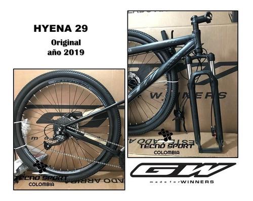 bicicleta gw hyena 29 shimano 9v hidráulico bloqueo oferta