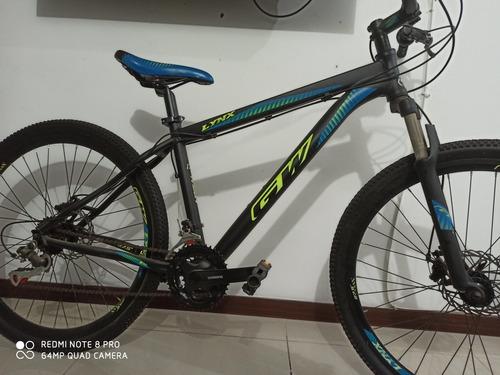 bicicleta gw lynx negra