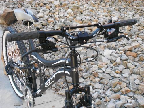 bicicleta gw todoterreno doble suspension cambios shimano