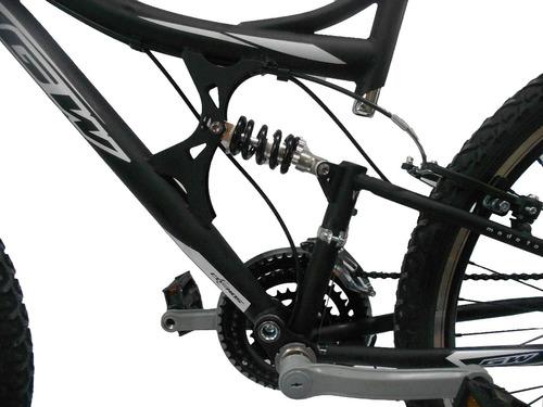 bicicleta gw todoterreno suspensio rin 26 aluminio rin doble