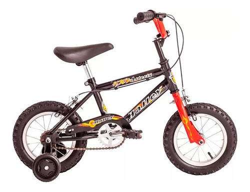 bicicleta halley asterix rodado 12 bmx varon 19030