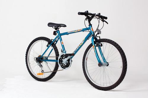 bicicleta halley mountain bike rodado 24 18 vel 19131- 19133