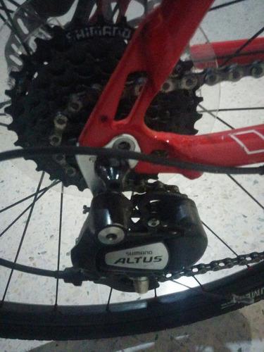 bicicleta haro rin 29 frenos hidraulicos 8 velocidades