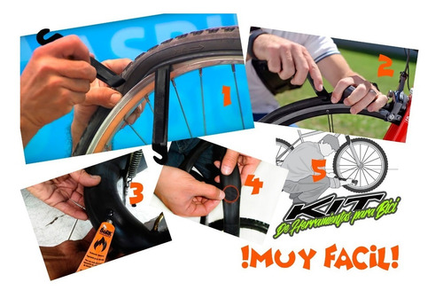 bicicleta herramientas kit