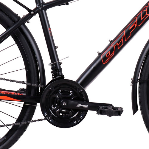 bicicleta híbrida montaña/ruta dtfly shimano 700