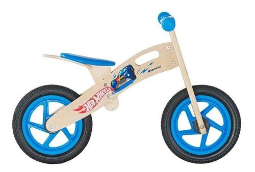 bicicleta hotwheels de madera sin pedales - giro didactico