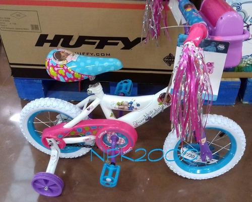 Bicicleta huffy doc mcstuffins rodada 12 p ni 241 as 3 5 a 241 os 1 799