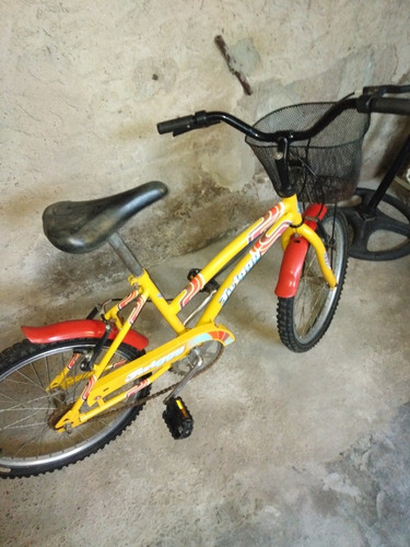 bicicleta impecable