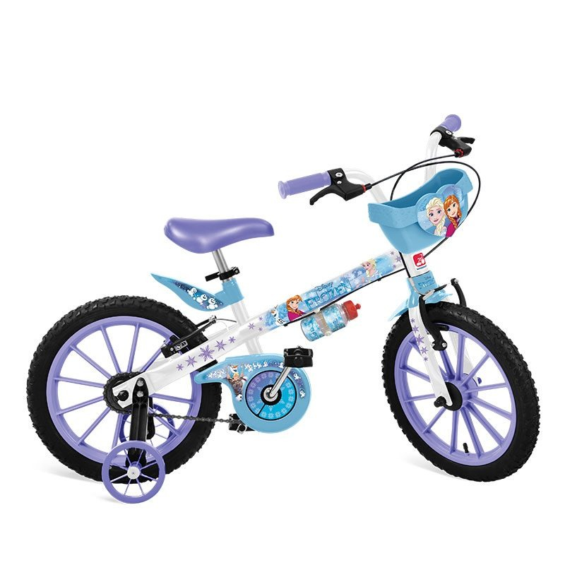 bicicleta infantil 16 frozen menina 4 a 8 anos personagem. Carregando zoom. 3063326ff5c