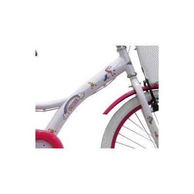 5fb6f6e13 Bicicleta Infantil 7-10 Anos Tito Unilover Unicórnios Aro 20 - R ...