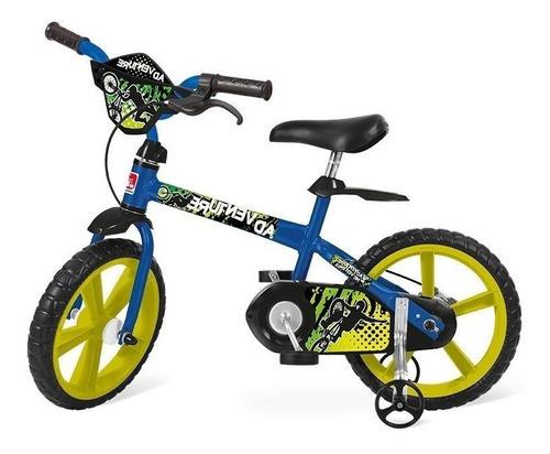 bicicleta  infantil adventure aro 14 - bandeirante