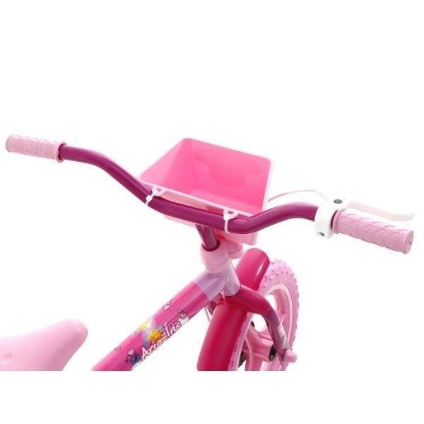 daf1b079f Bicicleta Infantil Aro 12 Arco Íris - Rosa - Track   Bikes - R  139 ...