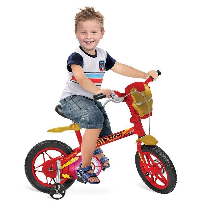 597cd2617 bicicleta infantil aro 12 marvel homem de ferro bandeirante. Carregando  zoom.