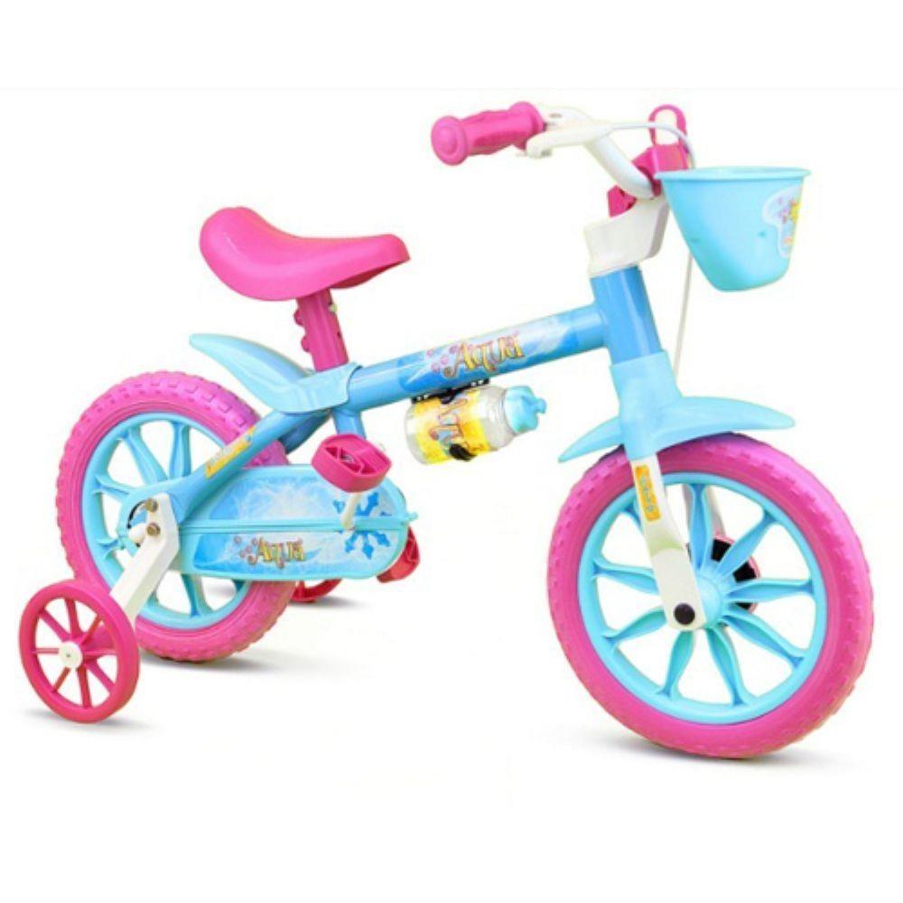 6faf041fa Bicicleta Infantil Aro 12 Nathor Menina De 2 A 4 Anos Top - R  188 ...