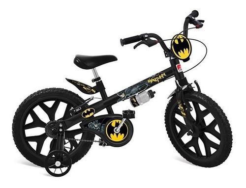 bicicleta infantil aro 16 bandeirante batman