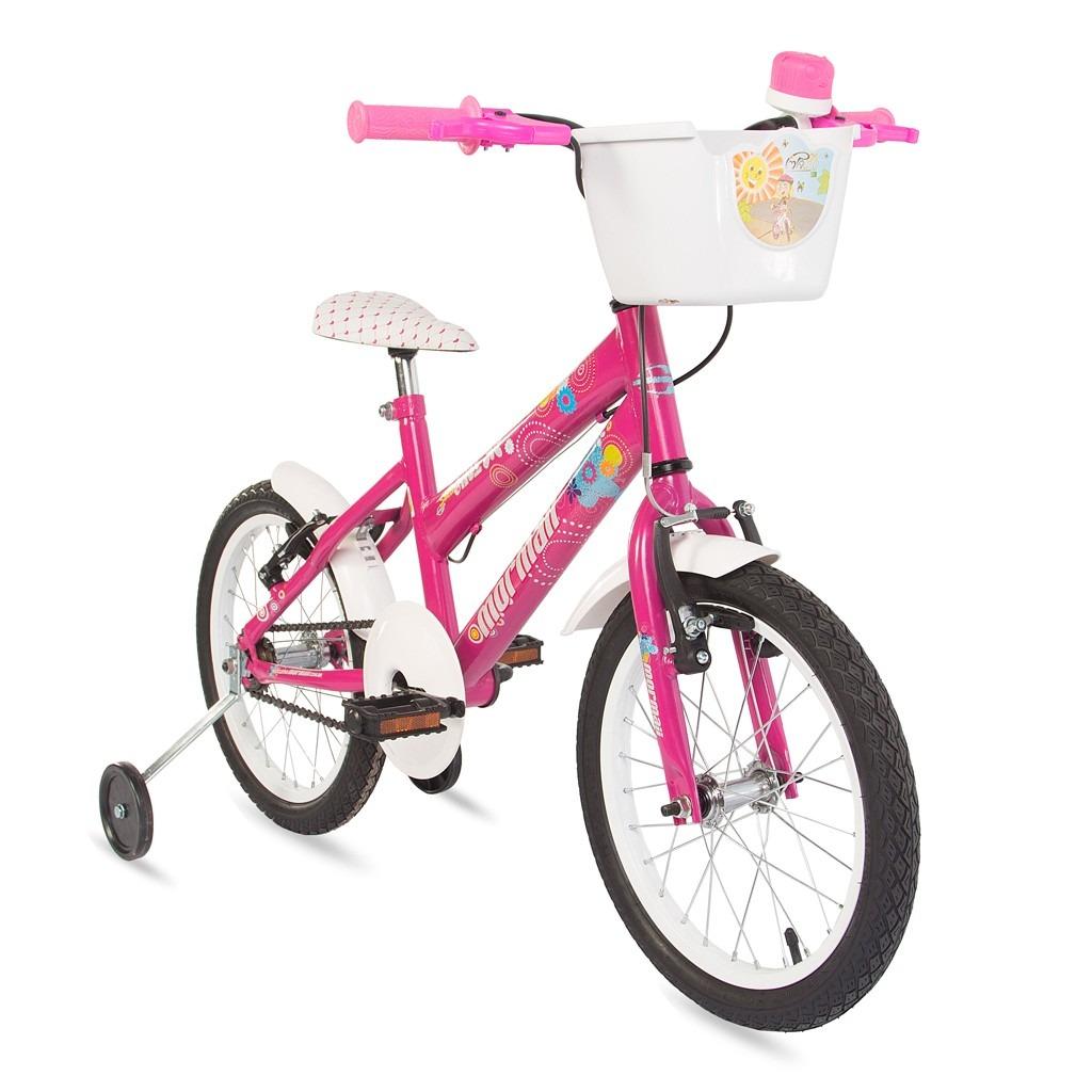 c855462fd Bicicleta Infantil Aro 16 Mormaii Menina De 4 A 8 Anos - R  528
