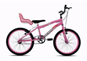 25670ac9a Bike Feminina Aro 20 Cadeirinha Boneca - Ciclismo no Mercado Livre Brasil