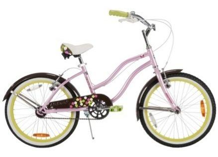 bicicleta infantil aro 20 huffy good vibration rosado